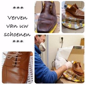 verven van schoenen